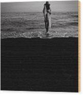 Ocean Walk Wood Print