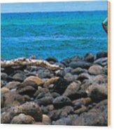 Ocean Watch Wood Print