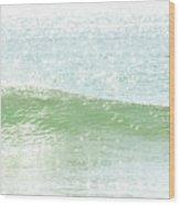Ocean Wave 13 Wood Print
