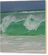 Ocean Wave 2 Wood Print