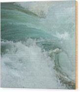 Ocean Wave 4 Wood Print