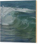 Ocean Wave 5 Wood Print