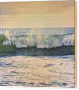 Ocean Waves Wood Print
