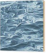 Ocean Waves_1 Wood Print