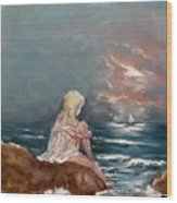 Oceanic Relaxation Wood Print