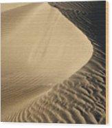 Oceano Dunes II Wood Print