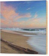 Oceano Pacifico Wood Print