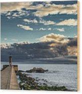 Ocean's Skys Wood Print