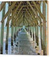 Oceanside Cathedral Wood Print