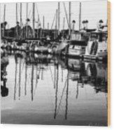 Oceanside Harbor Wood Print