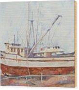 Oceansport Wood Print