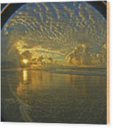 Oceanview Wood Print