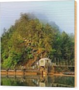 Ocoee Dam 2 Wood Print