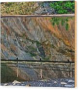 Ocoee Dam Reflection Wood Print
