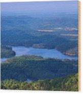 Ocoee Lake Wood Print