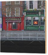 Oconnells Pub And The Batchelor Inn - Dublin Ireland Wood Print