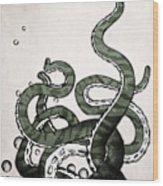 Octopus Tentacles Wood Print
