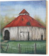Octagen Barn Wood Print