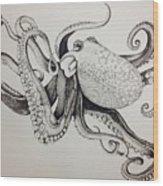 Octo Wood Print