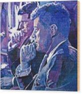 October 1962 Wood Print by David Lloyd Glover