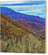 October Days Wood Print