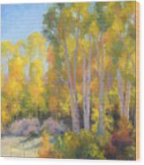 October Delight Wood Print