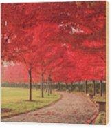October Dream Wood Print