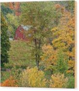 October Fifteenth Wood Print