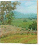 October Hills In Middletown Md Wood Print