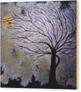 October Night 3 Wood Print