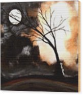 October Night 4 Wood Print