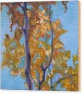 October Wood Print