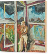 October Thirteenth  Wood Print