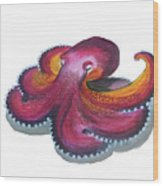 Octopus Dance Wood Print
