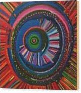 Ocular Energy Path Wood Print