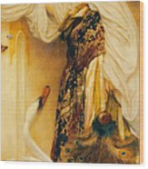 Odalisque Wood Print