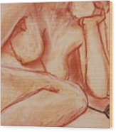 Odalisque Twelve Wood Print