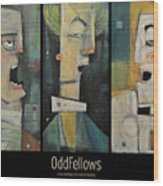 Odd Fellows Triptych Wood Print