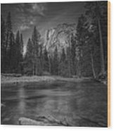Ode To Ansel Adams Wood Print
