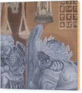 Ode To Durer Wood Print