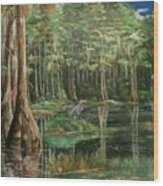 Ode To Robert Butler Wood Print