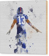 Odell Beckham Jr Wood Print