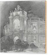 Odessa Theater  Wood Print
