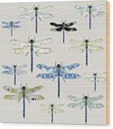 Odonata Wood Print