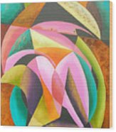 Odyssey Of Colors Wood Print