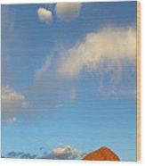 Of Heaven And Earth Wood Print
