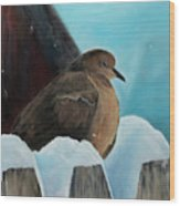 Of Winters Past Wood Print