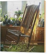 Off My Rocker - Photograph Wood Print