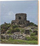 Offertories Telum Ruins Mexico Wood Print