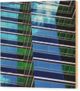 Office Abstract Wood Print